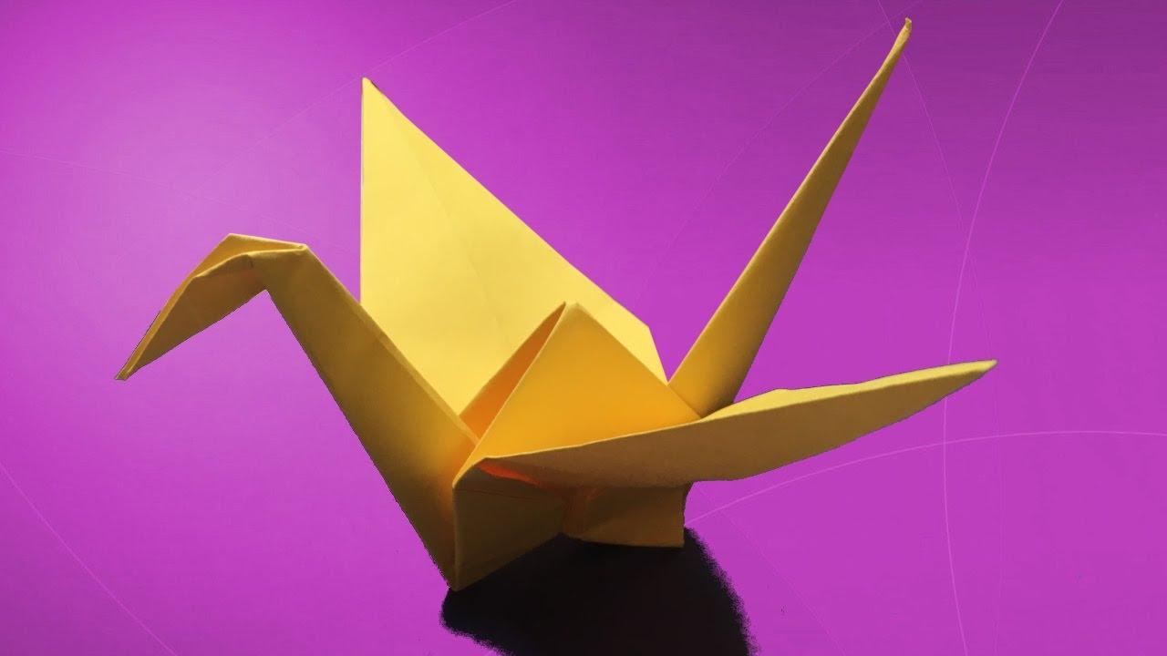 Kuğu Nasıl Yapılır ? / Kağıttan - Origami