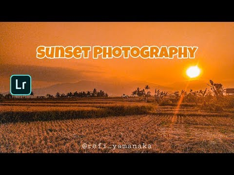 How to Edit Sunset Photography | Tutorial Lightroom | Mobile Tutorial thumbnail