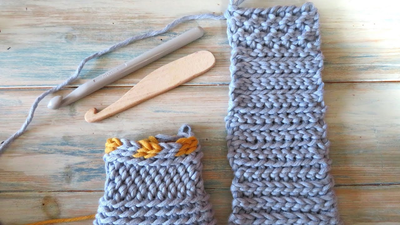 Slip Stitch Crochet / Bosnian Crochet / Shepherd\'s Knitting - YouTube