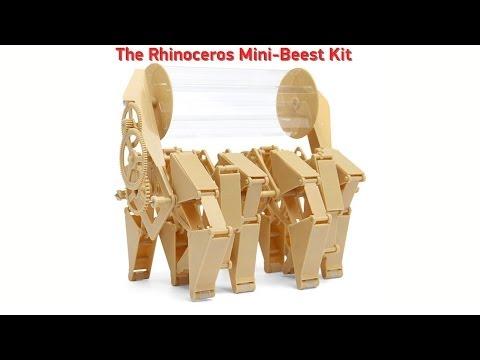Rhinoceros Mini-Beest Kit from ThinkGeek