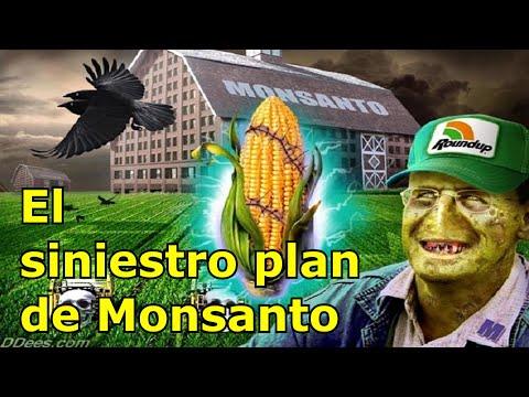 El siniestro plan de Monsanto