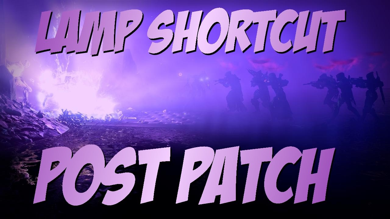 Destiny how many lamps are in crotas end - Destiny Crota S End Lamp Shortcut With Every Class New After Patch Cheese Youtube