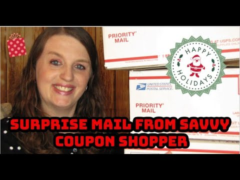 Surprise Mail from Savvy Coupon Shopper