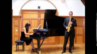 Decruck Sonata in C Sharp - Philip Attard - saxophone, Christine Zerafa - Piano
