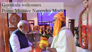 We greet the Prime Minister of India!