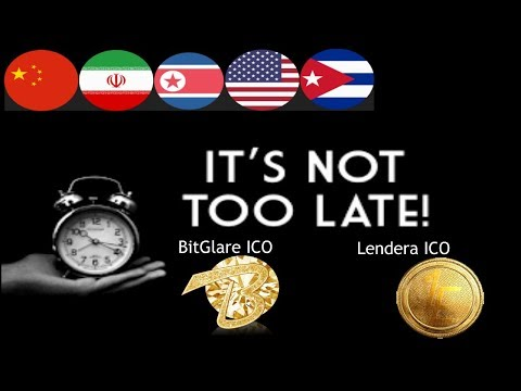 Do'nt Miss Out on Lendera & Bitglare ICO Final Sales || It's NOT TO LATE !!!