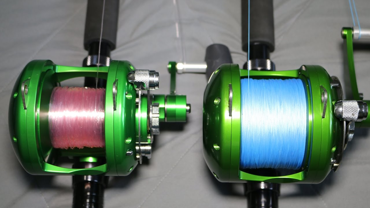 How to spool a conventional reel - Back It Up Mono Vs Braid Reel Backing Tackle Tuesday 20