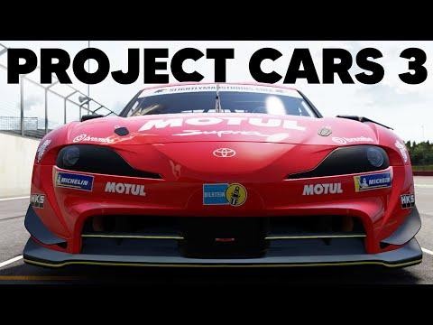 Новые геймплейные ролики Project CARS 3