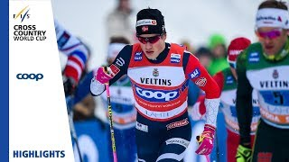 Highlights | Klaebo/Iversen reign supreme | Lahti | Men's Team Sprint | FIS Cross Country
