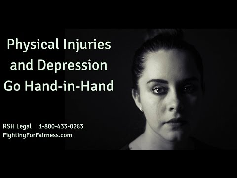 Physical Injuries and Depression Go Hand-in-Hand