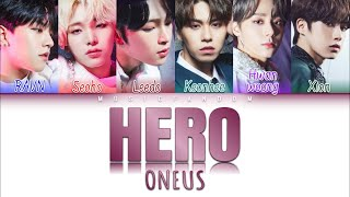 Download Mp3 Oneus  원어스  - Hero  Color Coded Han|rom|eng|가사