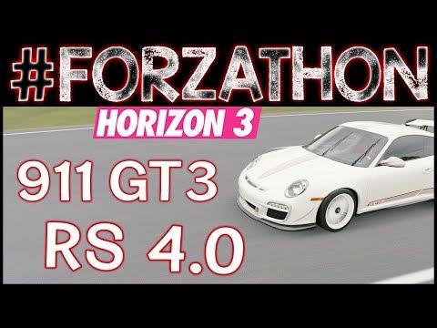 Beach Festival #Forzathon - Porsche 911 GT3 RS 4.0 - Forza Horizon 3 Forzathon Beach Festival FH3
