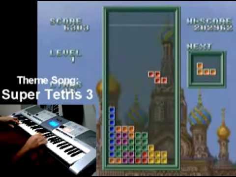 Theme Song - Super Tetris 3 (SNES)