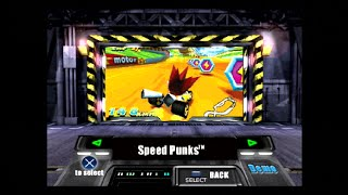 PlayStation Underground Jampack Summer 2K Gameplay Part 6 - Speed Punks