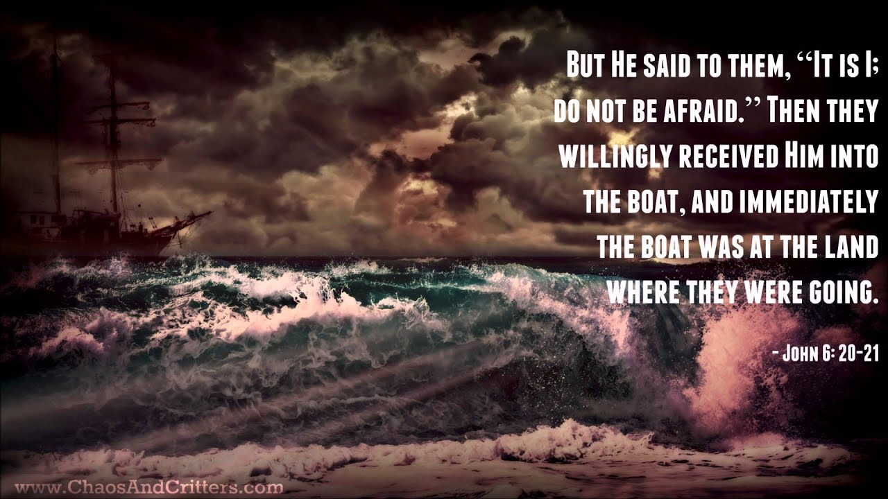 Image result for John 6:21