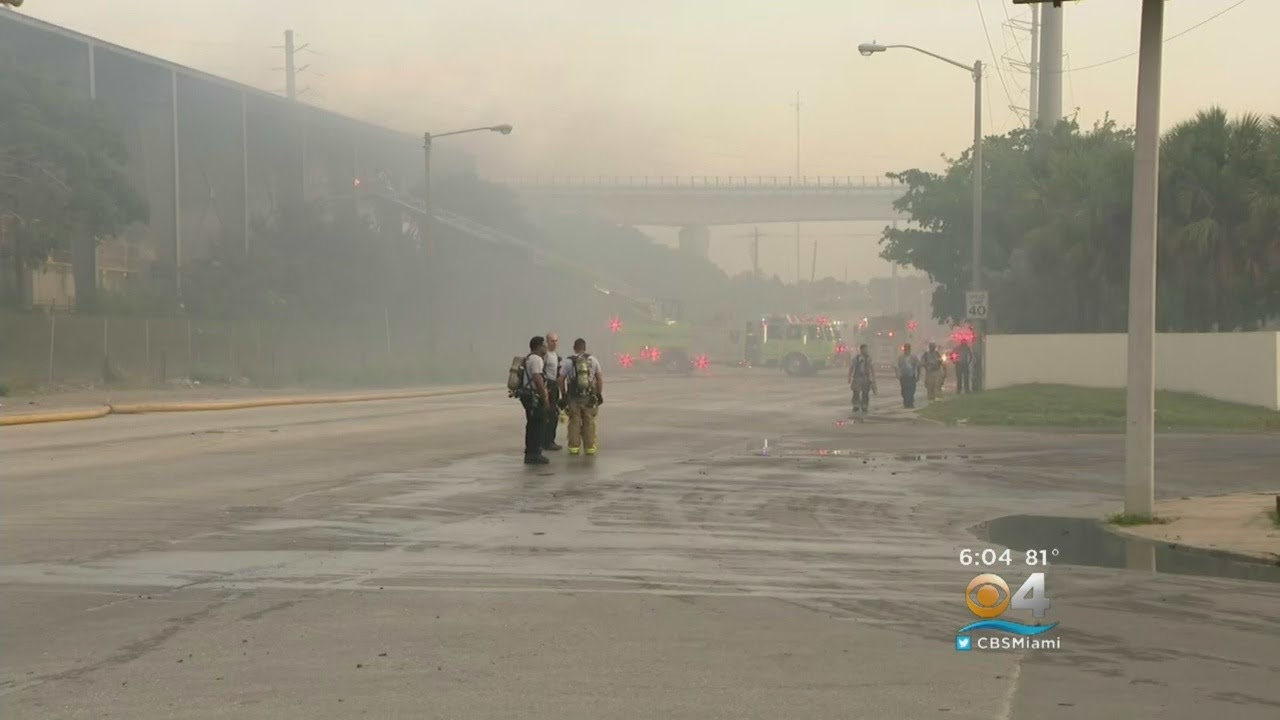 Environmental Concerns After Recycling Plant Fire