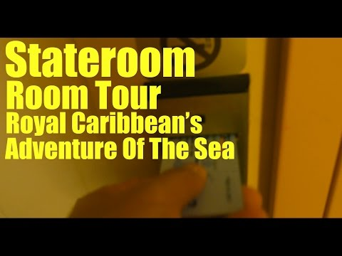 Stateroom Tour| Adventure of the Sea| Royal Caribbean| 2017