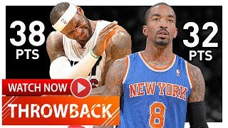 Throwback: LeBron James vs J.R. Smith Duel Highlights (2014.04.06) Heat vs Knicks - EPIC!