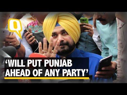 The Quint:No Political Party Is Bigger Than Punjab: Navjot Singh Sidhu