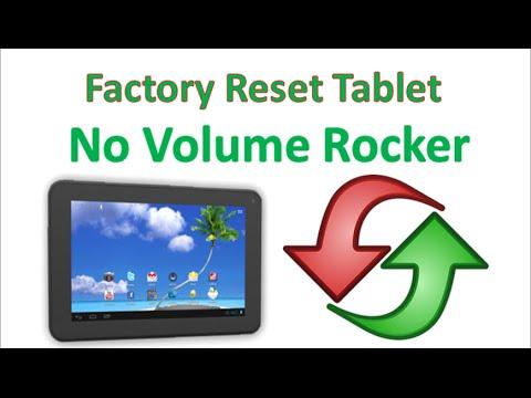 Factory Reset on Proscan PLT7223G or Tablet w/o Vol Rocker