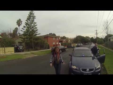 Thumbnail: Huffy Slider drift trike pulled over by undercover Cops. Melbourne, Australia. 2013 May