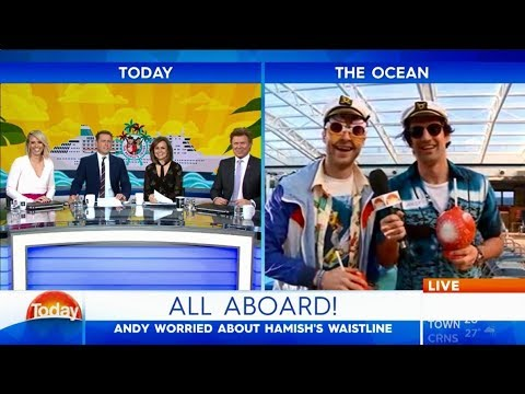Hamish and Andy hit the high seas - Karl Stefanovic