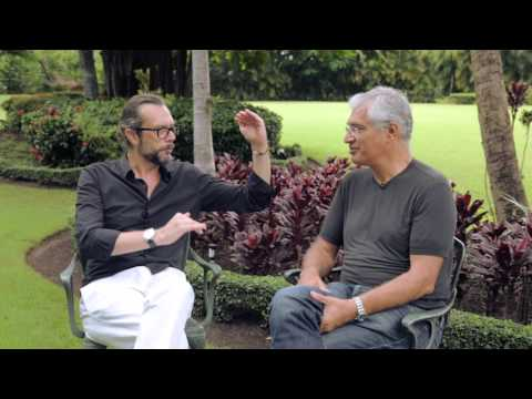 Denis Delestrac interviews Louie Psihoyos at the 5th DR Environmental Film Festival