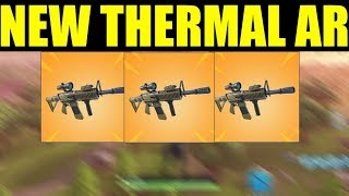 "Fortnite NEW ""Thermal Scoped Assault Rifle"" Update Information"