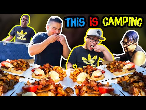 This is Camping | Mukbang | QT