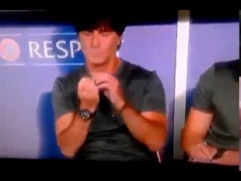 Germany Coach / Manager (Joachim Löw) goes for his bum this time! Part 2