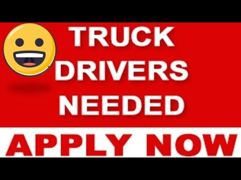 TRUCK DRIVER HIRING COMPANIES IN TORONTO CANADA