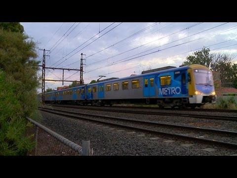 Metro Trains Melbourne Electric Passenger Trains - PoathTV Railroads and Trains in Australia