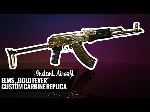 """INSTANT VIDEO: ELMS """"Gold Fever"""" custom carbine replica"""