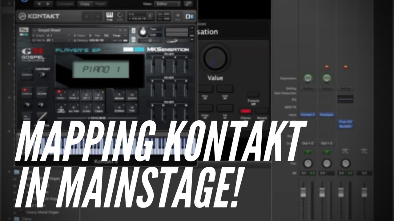 MainStage Template -MKS