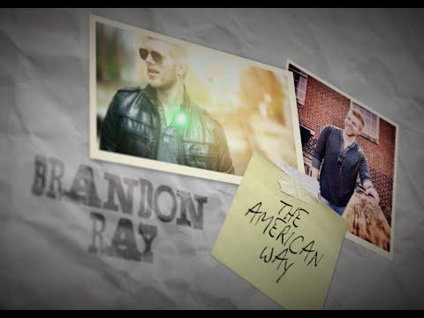 Brandon Ray - AMERICAN WAY (Lyric Video)