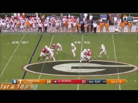 Tennessee Hail Mary vs. Georgia