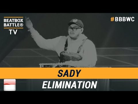 Sady from Indonesia - Loop Station Elimination - 5th Beatbox Battle World Championship