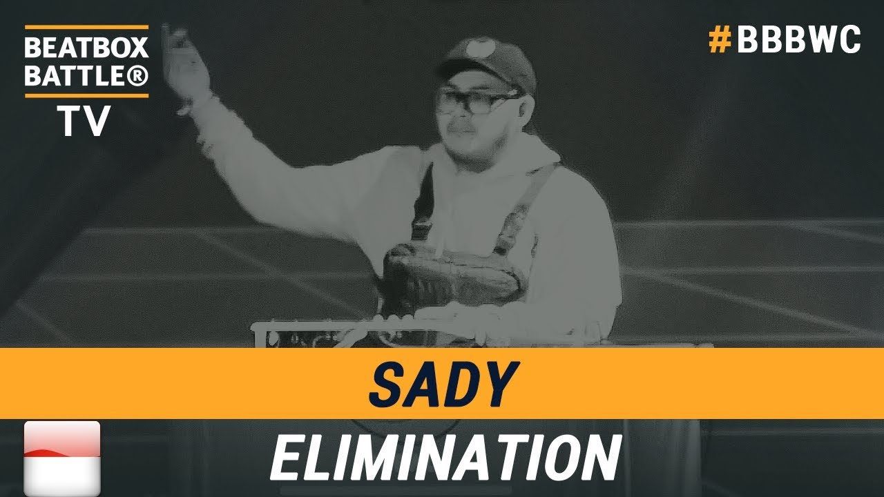 Download Sady from Indonesia - Loop Station Elimination - 5th Beatbox Battle World Championship