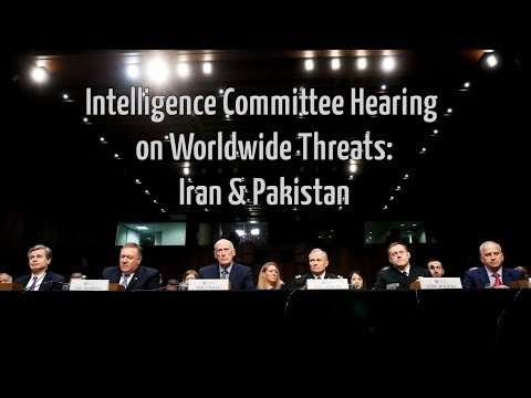 On Iran & Pakistan: The Senate Intelligence Committee's Hearing on Worldwide Threats