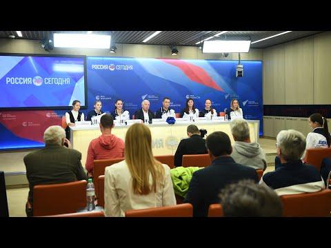 Пресс-конференция ЖВК «Динамо» (Москва)