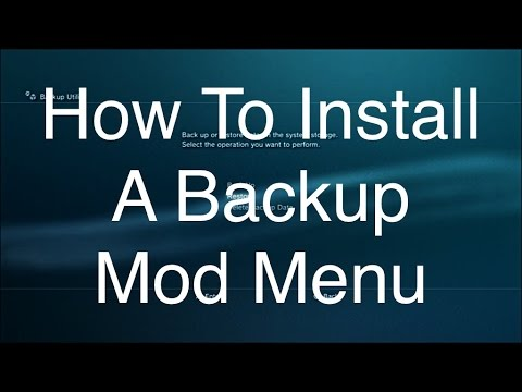 How To Install Backup Mod Menu MW2 1.14 EASY! (No Jailbreak)