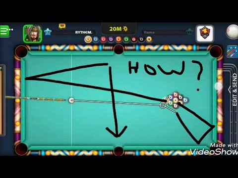 9 ball pool new golden break with pool fanatic cue.