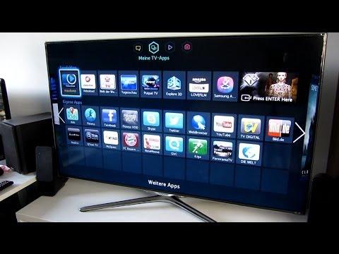 samsung-ue46f6500-smart-tv-unboxing-installation-deutsch-hd