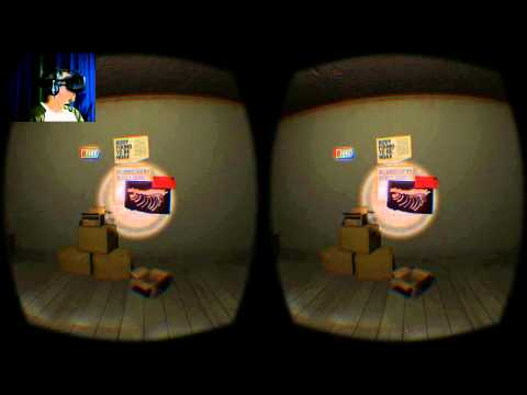 Oculus Rift DK2 - A Chair In A Room - A mojarse los pantalones