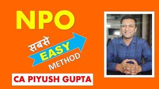 3.1 NPO Class 12 Accounts by CA Piyush | TS Grewal | CA Foundation