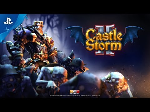CastleStorm II - Announce Trailer | PS4