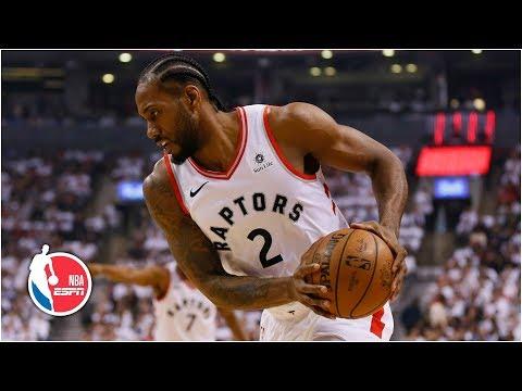 Kawhi scores career-high 45 | Raptors vs 76ers Game 1 | 2019 NBA Playoff Highlights