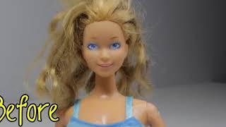 10 удивительных трансформаций волос Барби (Barbie Doll). Лайфхаки для кукол. / Видео