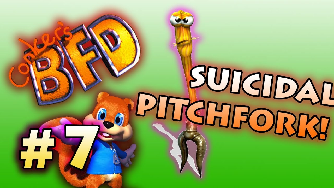 Suicidal Pitchfork Conker S Bad Fur Day Playthrough 7 Youtube