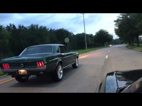 Dads 67 Mustang First Drive